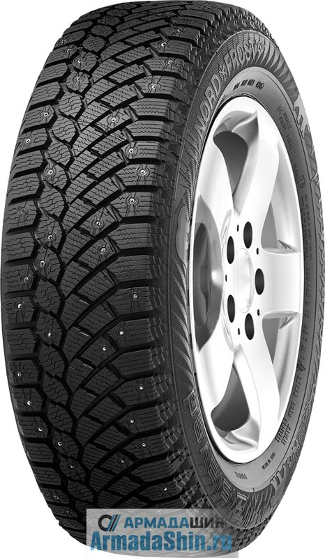 Шины 205/60 R16 Gislaved Nord Frost 200 96 T XL ID шип.